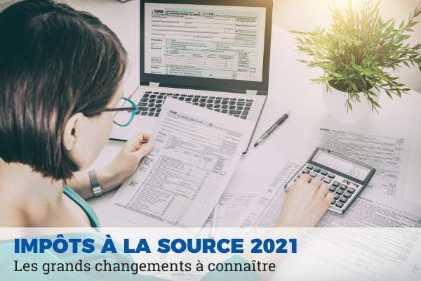 impôt à la source 2021